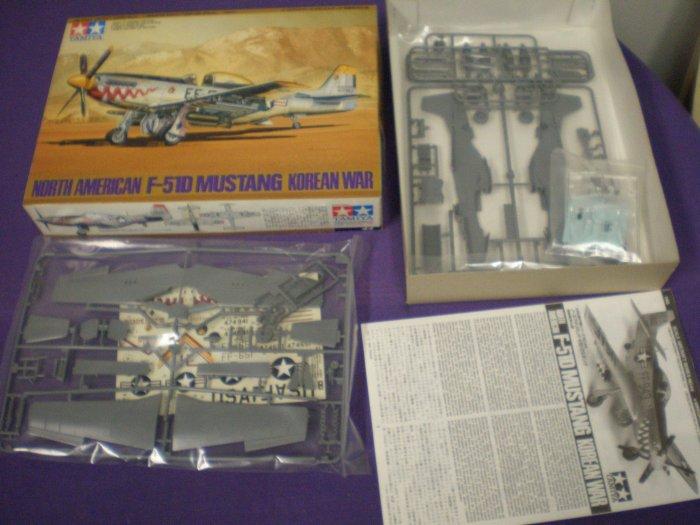 Tamiya North American F-51D Mustang Korean War # 44, 7.0 FN/VF