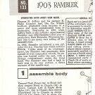 Inst Sheet 1903 Rambler