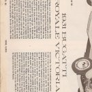 Inst Sheet 1931 Bugatti