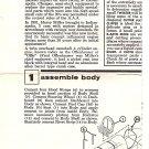 Inst Sheet 1931 Miller Special