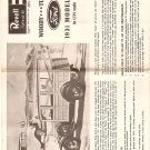 Inst Sheet 1931 Model A Woody Tudor