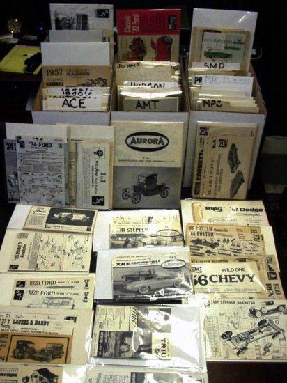 Inst Sheet 1939-40 Tudor Sedan Street Rods