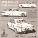 Inst Sheet 1949 Ford Club Coupe 3 in 1 Trophy Ser