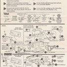 Inst Sheet 1951 Chevy Bel Air Conv