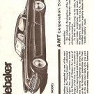 Inst Sheet 1953 Studebaker 3 in 1 Trophy Series