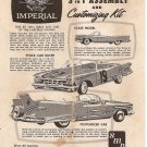 Inst Sheet 1959 Imperial 3 in 1