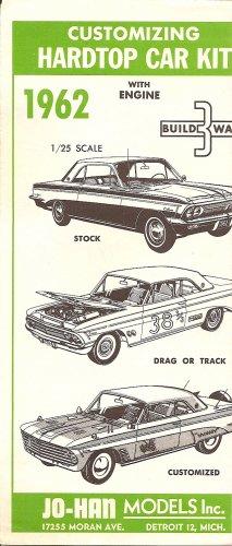 Inst Sheet 1962 Olds F 85 Build 3 Way Hardtop