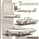 Inst Sheet 1962 Thunderbird 3 in 1
