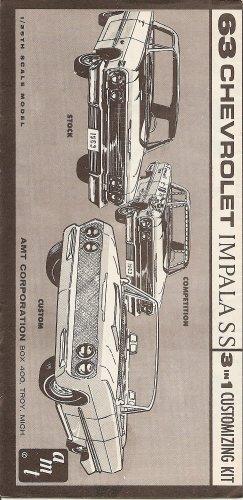 Inst Sheet 1963 Impala 3 in 1