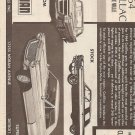 Inst Sheet 1964 Cadillac Coupe De Ville