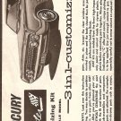 Inst Sheet 1964 Mercury Marauder 3 in 1