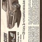 Inst Sheet 1964 Mercury Marauder 3 in 1