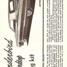 Inst Sheet 1965 Thunderbird 3 in 1