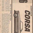 Inst Sheet 1966 Corsa