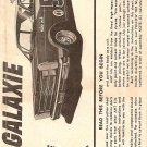 Inst Sheet 1966 Galaxie 500