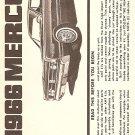 Inst Sheet 1966 Mercury