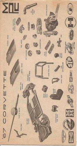 Inst Sheet 1967 Corvette