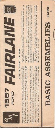 Inst Sheet 1967 Ford Fairlane