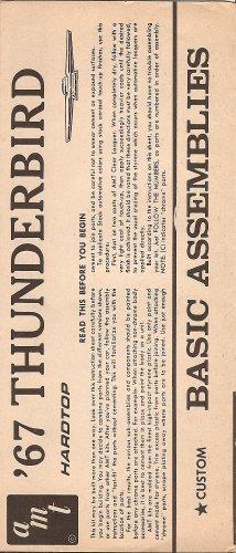 Inst Sheet 1967 Thunderbird