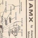 Inst Sheet 1969 AMX