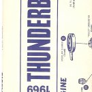 Inst Sheet 1969 Thunderbird Blueprint