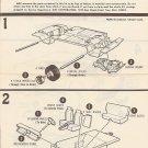 Inst Sheet 1970 Chevelle