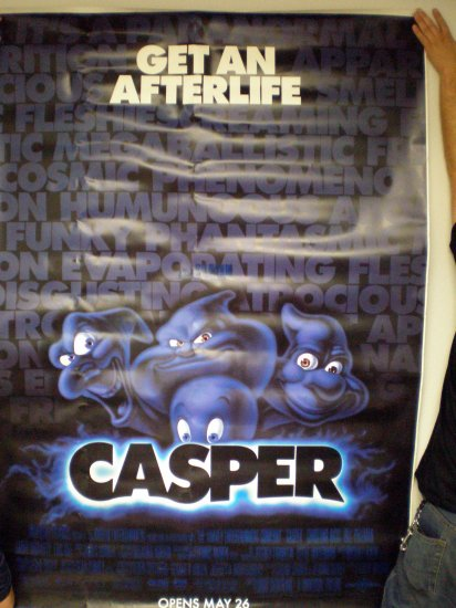 Casper The Movie Bus Stop Poster # 1995, 4.5 VG +