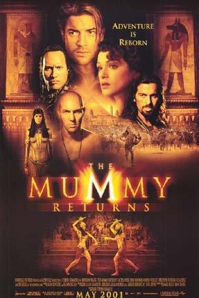 Mummy Returns # 1, 7.0 FN/VF