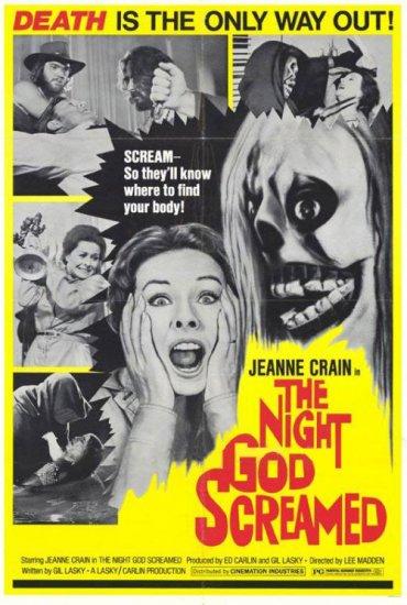 Night God Screamed # 1, 8.0 VF