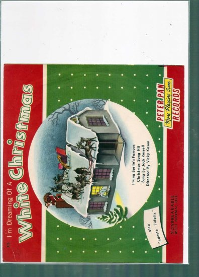 1954 DREAMING OF A WHITE CHRISTMAS  7 # 1, 4.5 VG +