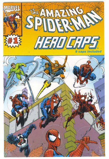 Amazing Spider-Man Hero Caps # 1, 9.4 NM