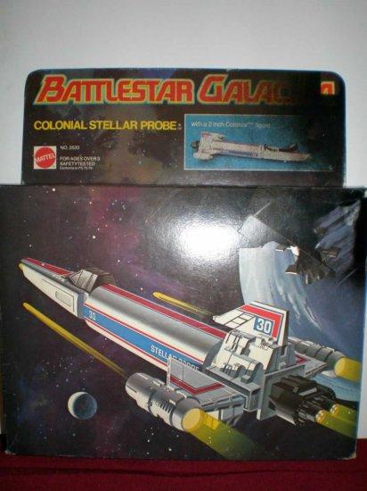 BATTLESTAR GALLACTICA COLONIAL STELLAR PROBE # 2533, 2.5 GD +