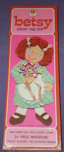 BETSY PAPER DOLL # 1, 9.6 NM +