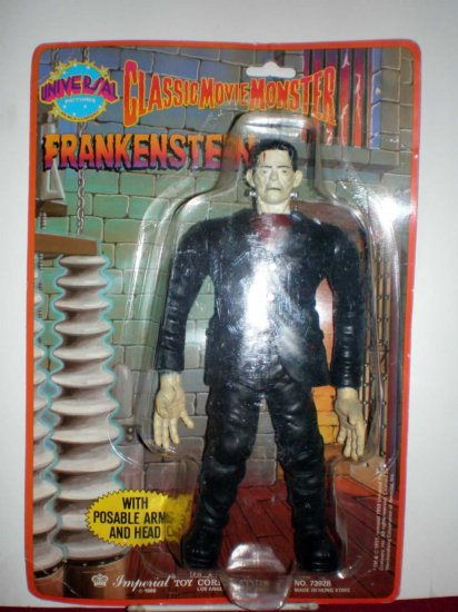 CLASSIC MOVIE MONSTER FRANKENSTEIN # 7392, 2.0 GD