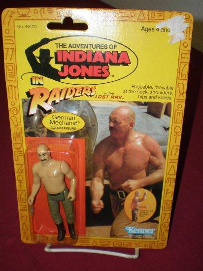 INDIANA JONES RAIDERS 1982 KENNER GERMAN MECHANIC # 46170, 7.0 FN/VF