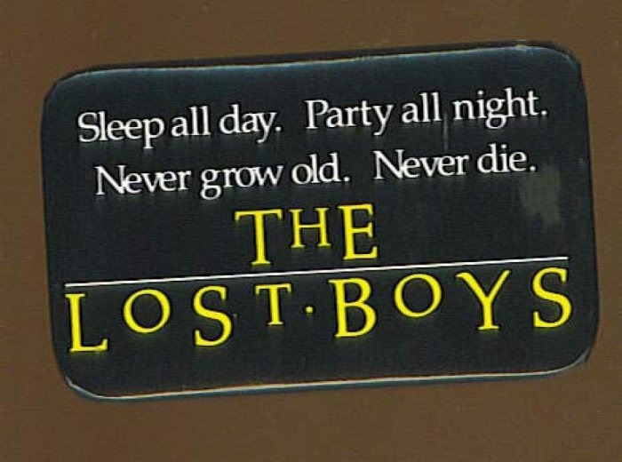 Lost Boys Button # 1, 4.0 VG