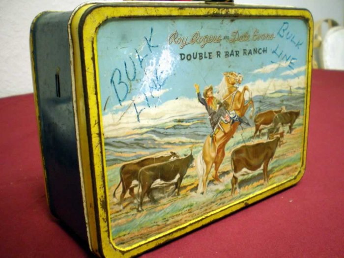 ROY RODGERS AND DALE EVANS LUNCH BOX, 1.0 FR