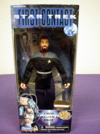 Star Trek First Contact - CMDR. William T. RRiker # 14705, 9.0 VF/NM