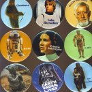 Star Wars Luke Skywalker Button # 1, 9.4 NM