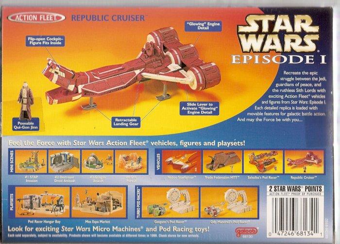 STAR WARS REPUBLIC CRUISER # 68130, 8.0 VF