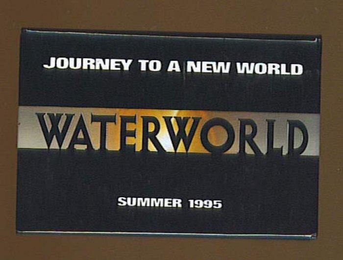 Waterworld Button # 1, 8.0 VF