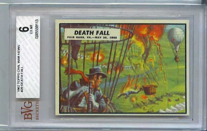 BVG GRADED 1962 CIVIL WAR NEWS # 20, 6.0 FN