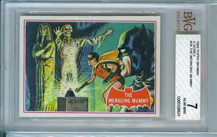 BVG GRADED 1966 BATMAN CARD # 3, 7.0 FN/VF