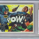 BVG GRADED 1966 BATMAN CARD # 15, 7.5 VF -