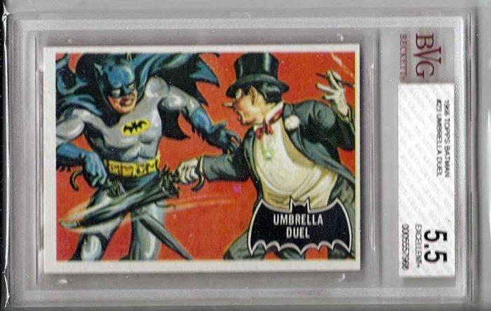 BVG GRADED 1966 BATMAN CARD # 23, 5.5 FN -