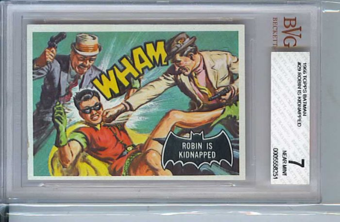 BVG GRADED 1966 BATMAN CARD # 29, 7.0 FN/VF