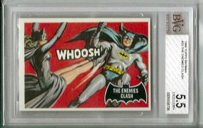 BVG GRADED 1966 BATMAN CARD # 33, 5.5 FN -