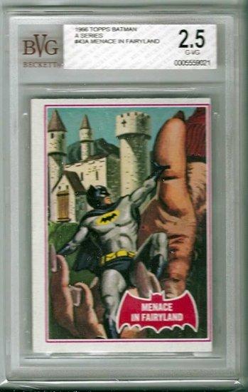 BVG GRADED 1966 BATMAN CARD # 43, 2.5 GD +
