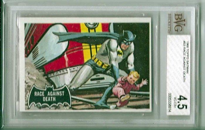 BVG GRADED 1966 BATMAN CARD # 53, 4.5 VG +