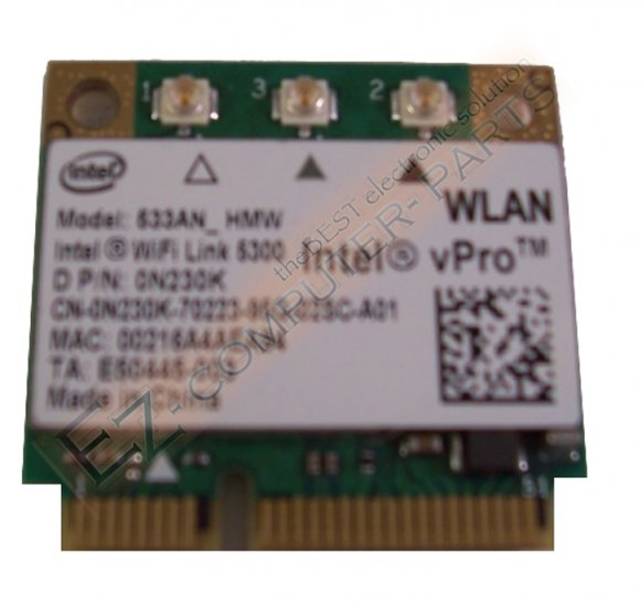 Dell Intel Wifi 5300 Mini PCI CARD  N230K  533AN_HMW !